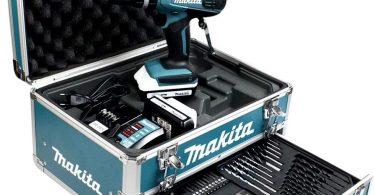 perceuse visseuse Makita HP457DWEX4 Un bricolage efficace avec la mallette perceuse visseuse Makita HP457DWEX4