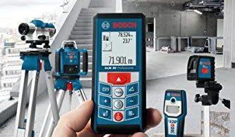 Telemetre Laser Bosch professionnal GLM 80 Télémètre laser : Pour des travaux d'une extrême précision !