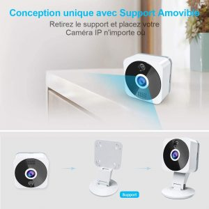 La caméra de surveillance sans fil Niyps