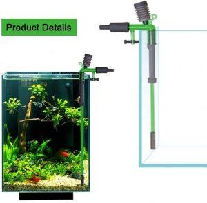 Morningtime Aspirateur Electrique pour Aquarium Les meilleurs aspirateur pour aquariums en 2021