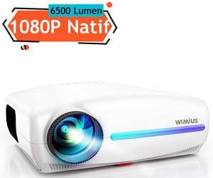 Vidéoprojecteur Wimius S1 6500 Lumens