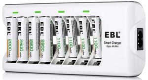Test et avis sur le chargeur de piles EBL