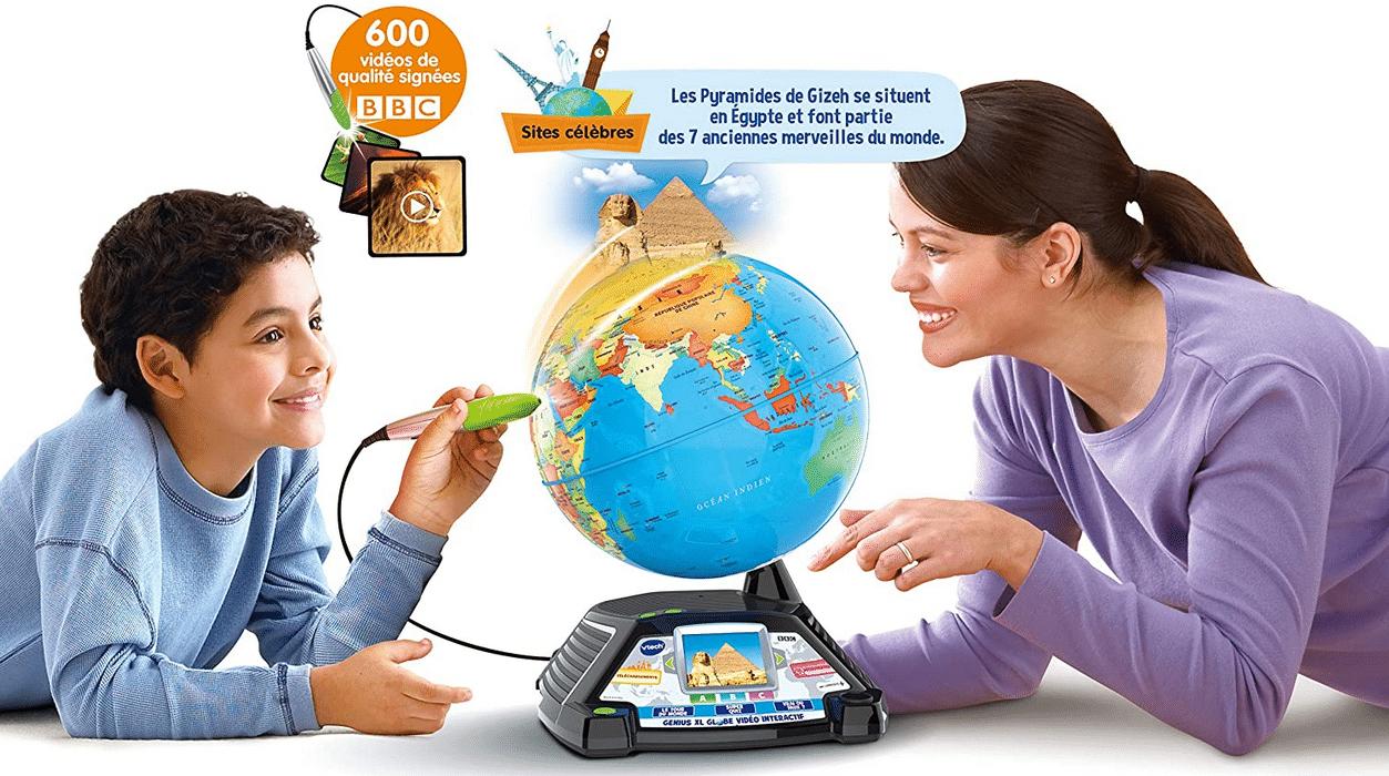 Meilleur globe interactif