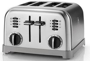 Test et avis sur le grille-pain Cuisinart CPT180E